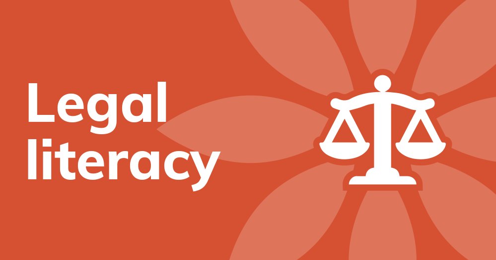 Legal Literacy, link to page